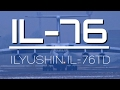 Silk Way Airlines Ilyushin IL-76TD *Old Engines* || Takeoff with Stunning Wing Condensation