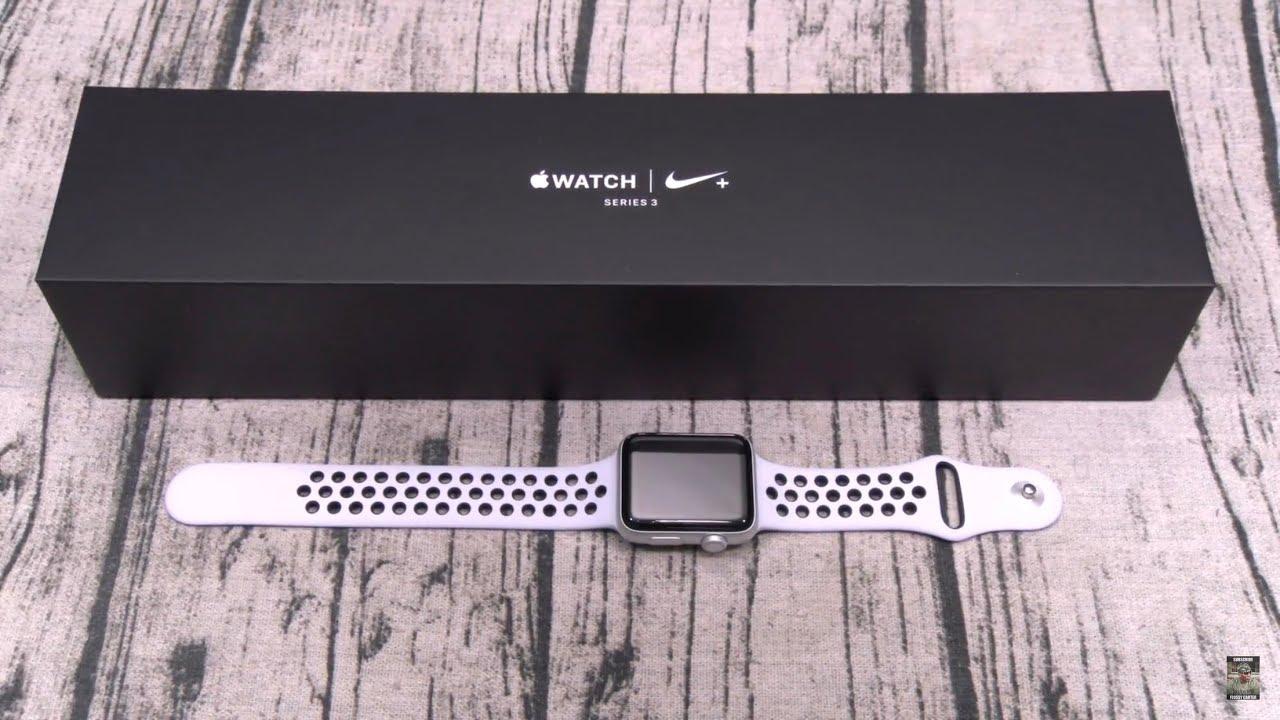 e9f7f873587e Apple Watch Series 3 Nike Plus Edition - YouTube