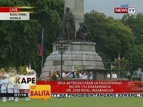 KB: Mga aktibidad para sa pagdiriwang ng ika-152 kaarawan ni Dr. Jose Rizal, inaabangan