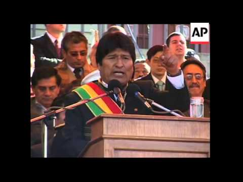 Chavez, Correa join Morales to celebrate 200th anniversary of independence