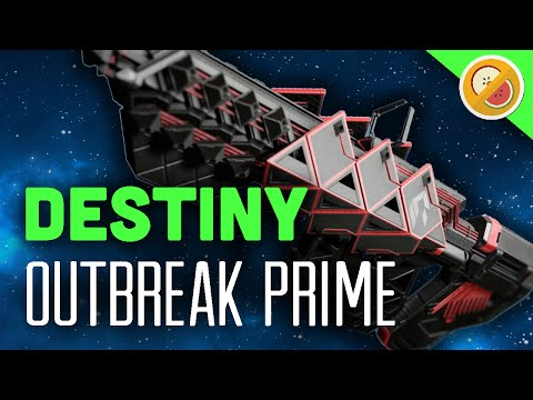 DESTINY Outbreak Prime NEW Raid Exotic Pulse Rifle Review & Gameplay (Rise of Iron)