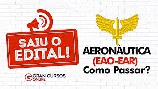 Concurso Aeronáutica 2019   Análise do Edital e dicas de estudos - Como Passar?
