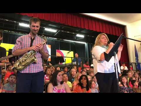 America the Beautiful, performed at Wolcott School Town Meeting