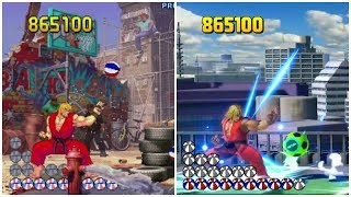 Street Fighter III: 3rd Strike Basketball Bonus Stage recreated in Smash Bros. Ultimate