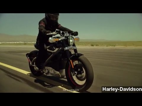 Harley-Davidson Makes Sharp Turn With Electric Motorcycle