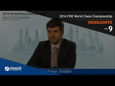 2016 FIDE World Chess Championship - Highlights - Game 9