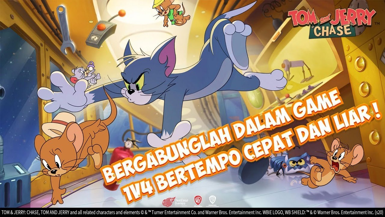 ?[LIVE] KUYYY MABAR Tom and Jerry: Chase