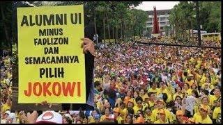 Merinding  Hebohnya Deklarasi Alumni Ui Untuk Jokowi - Amin Dan Apa Kata Dr. To