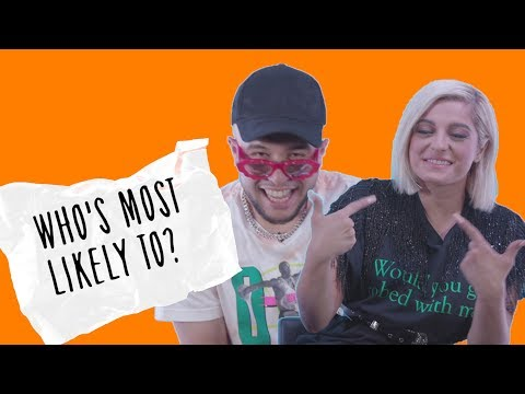 Bebe Rexha & Jax Jones reveal who left them starstruck in a game of &39;Who&39;s Most Likely To?&39;