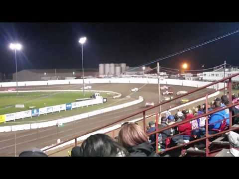 Farley speedway super modified week heat race section 2