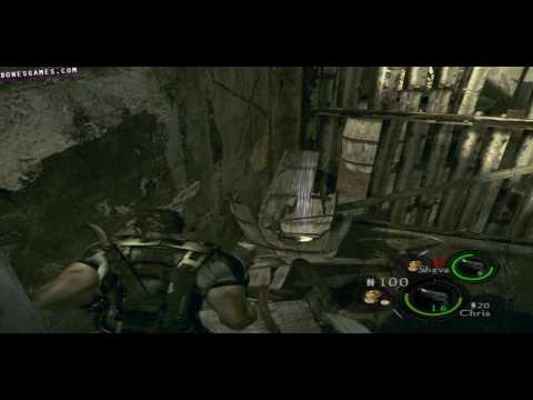 how to play co op resident evil 5