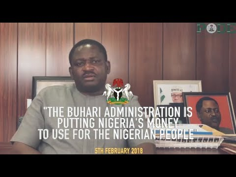 The Buhari Administration is Putting Nigeria's Money to Good Use.
