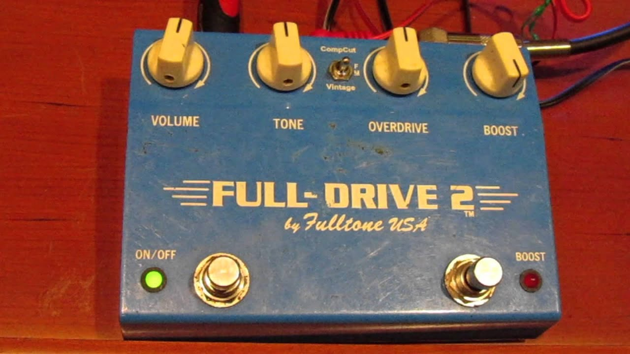 fulldrive 2 by fulltone usa overdrive pedal guitar review youtube. Black Bedroom Furniture Sets. Home Design Ideas