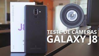 Galaxy J8 - Teste de Câmeras