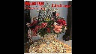 Tricia's Creations: Dollar Tree Valentine's Day Birdcage Challenge!