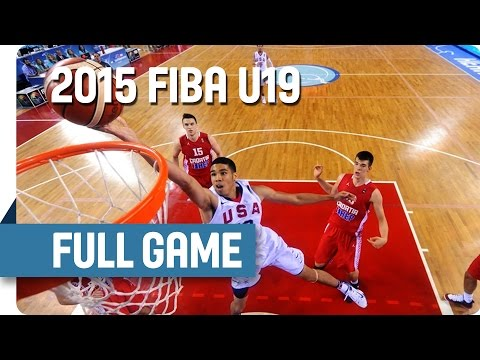 USA v Croatia - Final - Full Game - 2015 FIBA U19 World Championship