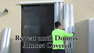 Guardian Shutters Sliding Glass Door