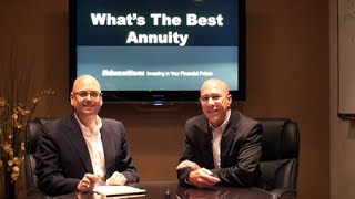 Annuities: What