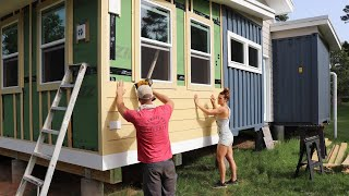 Siding Our SHIPPING CONTAINER HOME!