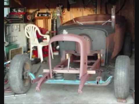 EVELYN #2- Hotrod Front Suspension 66' Chevy Van - YouTube