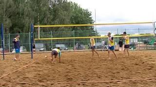 В Ярославле прошел финал чемпионата ЦФО по пляжному волейболу