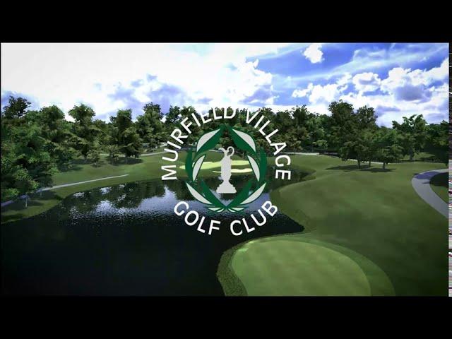 Muirfield Village Golf Club Full Swing Golf Simulator Software Flyover