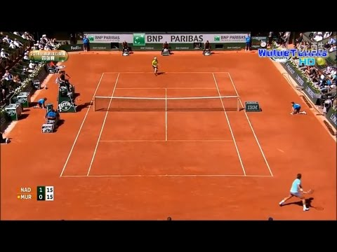 (HD)Rafael Nadal Vs Andy Murray French Open 2014