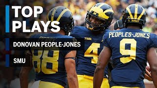 Top Plays: Donovan Peoples-Jones vs. SMU | Michigan | Big Ten Football