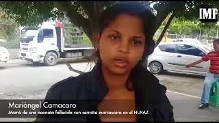 VIDEO Otra mamá denuncia que su hija murió por serratia marcescens en el Pediátrico de Barquisimeto
