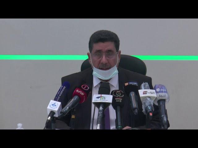كلمة السيد شريف عماري وزير الفلاحة والتنمية الريفية خلال تراسه ورشة عمل حول استعمال الطاقة في لفلاحة