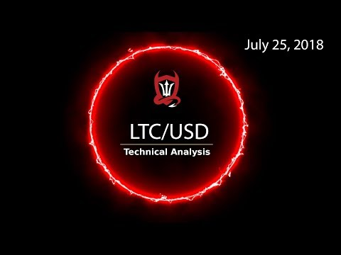 Litecoin Technical Analysis (LTC/USD) : Junk in the Trunc..?  [07/25/2018]