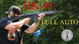 hk 91 machine gun full auto