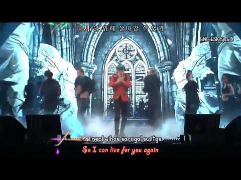 XIA Junsu ft. Tablo - Flower (live performance) [hangul / roman /eng sub]