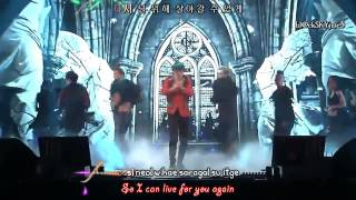 XIA Junsu ft. Tablo - Flower (live performance) [hangul / roman /eng sub]