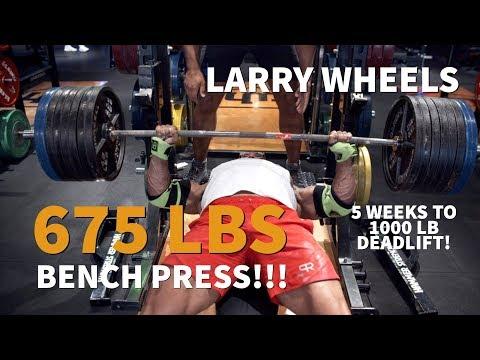 675LBS/307KG BENCH PRESS PR - YouTube