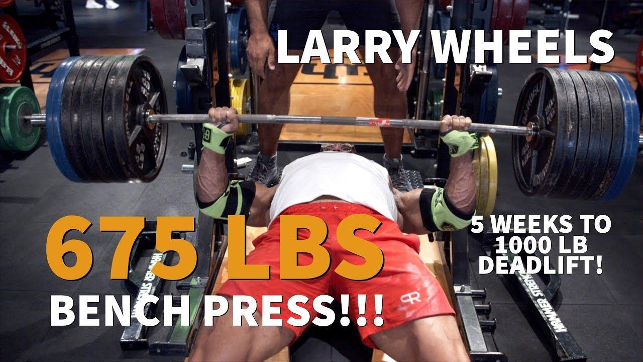 675LBS/307KG BENCH PRESS PR