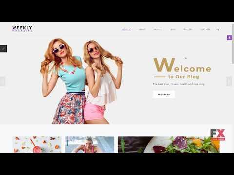Weekly Magazine - Health & Beauty Joomla Template TMT | Free Template