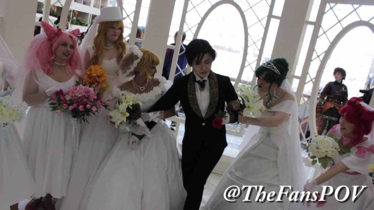 Cosplay Feature Sailor Moon Wedding Group Youtube