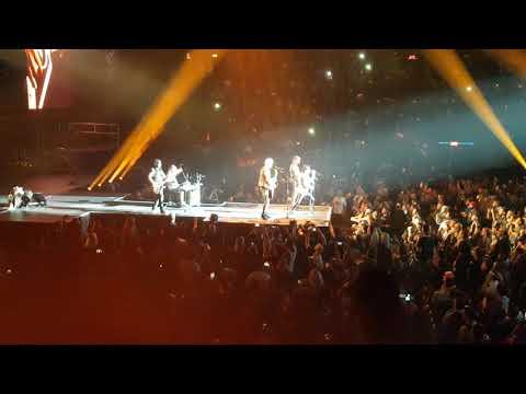 Scorpions Send me an angel Laval Qc 2017