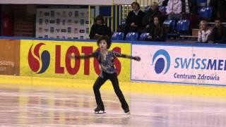 12 Shoma UNO (JPN) - ISU JGP Baltic Cup 2011 Junior Men Free Skating