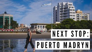 Mar del Plata to PUERTO MADRYN by Overnight Bus | Argentina Travel Vlog