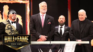 The nWo enters WWE Hall of Fame