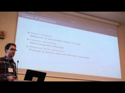 ICAPS 2013: Jendrik Seipp - Counterexample-Guided Cartesian Abstraction Refinement