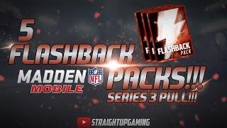 5 flashback packs   series 3 pull madden mobile 16   thanks for 3k subs