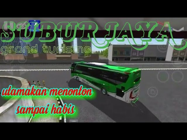 INDONESIA DRIFT BUS[free livery] (SUBUR JAYA SHD) BUSSID V2.8