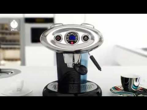 Cafetera illy x7 disponible en youtube - Cafetera illy ...