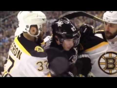 Zdeno Chara Tries to Re-Injure Crosby's Jaw