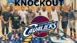 Clevland Cavaliers Play Knockout
