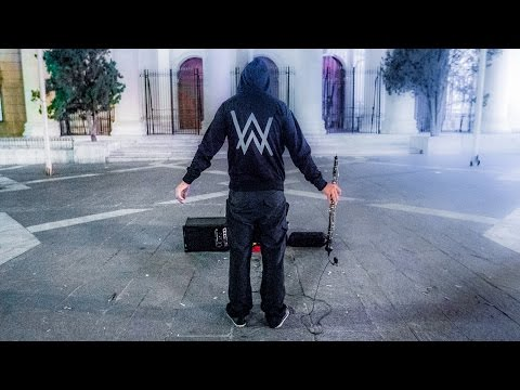 Alan Walker - Faded ( Live ) Street Music Oboe Cover By Toms Abelis