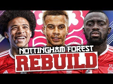 REBUILDING NOTTINGHAM FOREST!!! FIFA 18 Career Mode